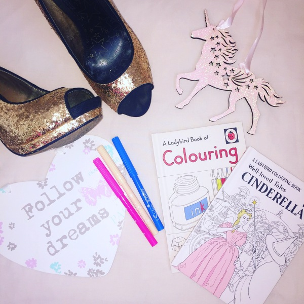 """Adult Colouring Book"" Cinderella"