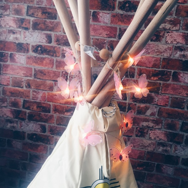 Garden Games Wigwam Plus Fairy Lights