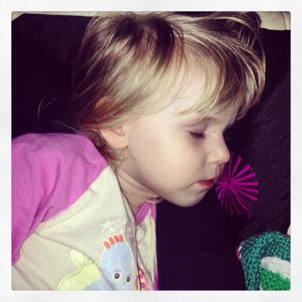 sleeping Cici